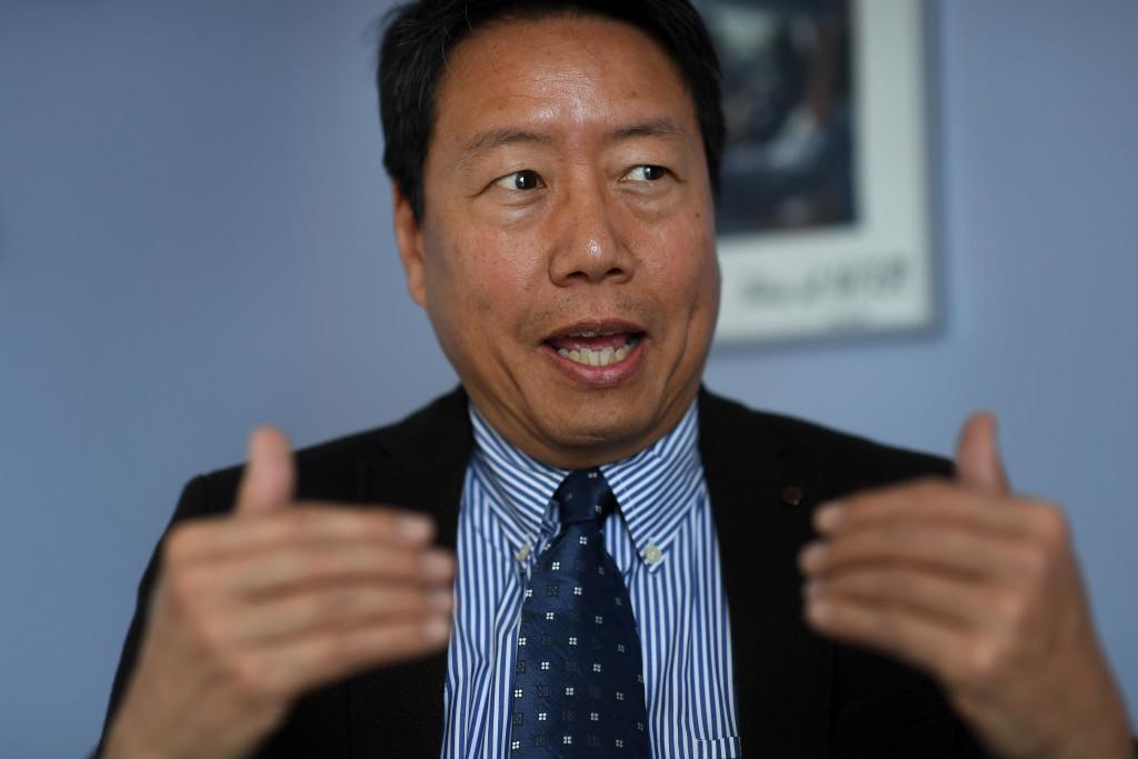 kent wong, rektor fšr centrum fšr arbetsmarknadsstudier vid universitetet ucla. foto urban andersson