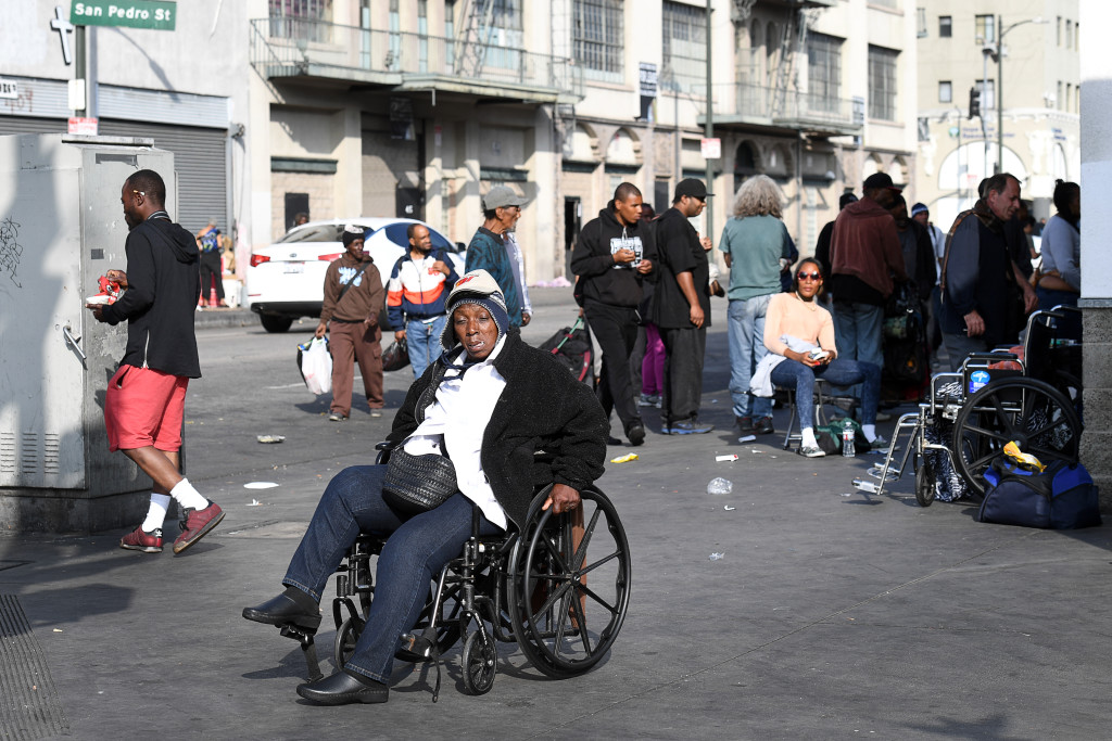 skid row i los angeles foto urban andersson